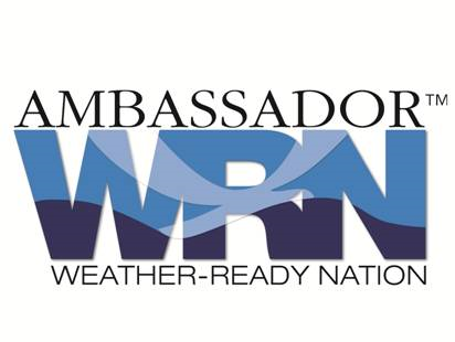 Ambassador of NOAA's Weather-Ready Nation initiative.